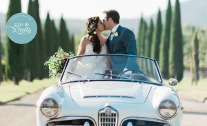 East Meets West at This Tuscan Wedding