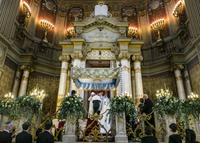 Grand Synagogue of Rome wedding
