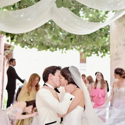 Whimsical Elegant Tuscan Wedding