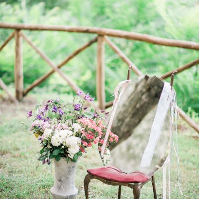 Elegant Boho Wedding at La Badia