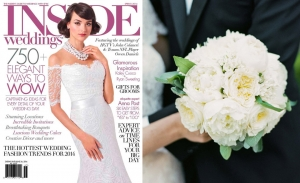 Ancient Roman Cloister Wedding Featured in Inside Weddings Magazine