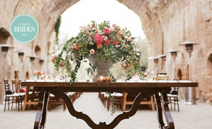 Colourful Wedding at a 6th Century Italian Abbey – La Badia, Orvieto  - Brides Magazine 2015