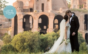 Romantic Outdoor Wedding in Ancient Rome - Style Me Pretty 2015